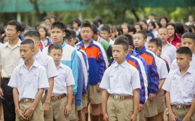 """""""ร้อยพลังการศึกษา"""" ชวนคนไทย""""บริจาคในโอกาสพิเศษ""""  ดีเดย์ธันวานี้ ให้เทศกาลแห่งความสุขช่วย """"เด็กด้อยโอกาส"""""""